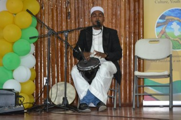 Scene from the Youman Nabi cultural programme.
