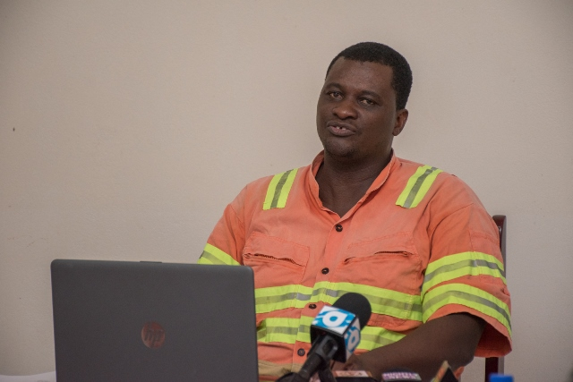 Supervisor of the Haags Bosch landfill site Lloyd Stanton.