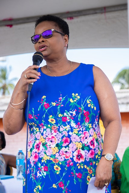 Minister of Public Health Hon. Volda Lawrence.