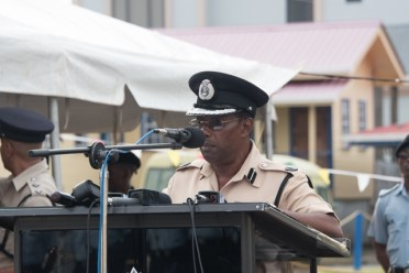 Assistant Commissioner and Force Training Officer, Clifton Hicken.