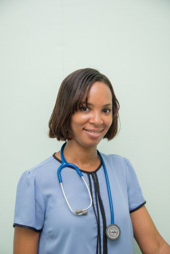 Dr. Alana Ernest, Doctor-in-Charge at the Lodge Health Centre and Former Beauty Queen (Miss Guyana Universe 2006).