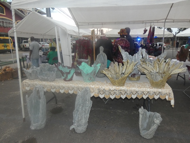 Some of the arts and craft that were exhibited at the tourism exposition