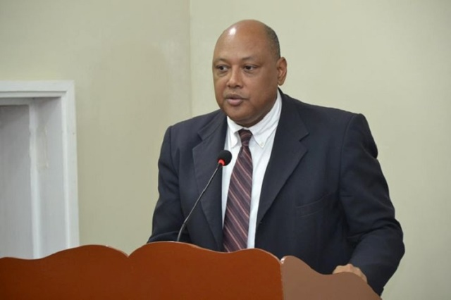Minister of Natural Resources, the Hon. Raphael Trotman