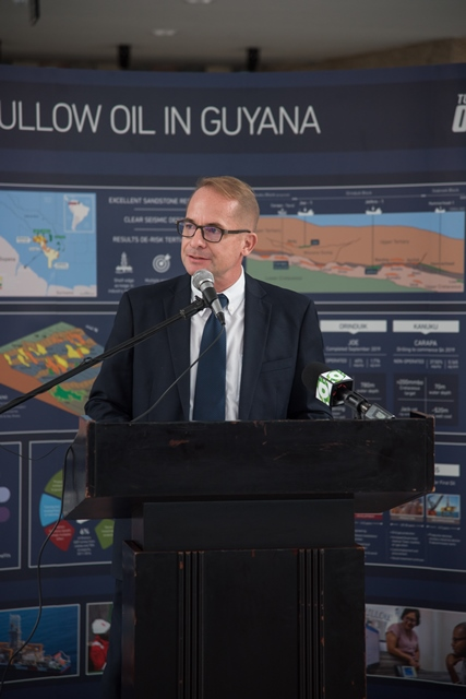 Tullow Country Manager, Joachim Vogt