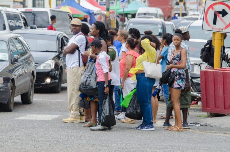 Shoppers along Regent Street