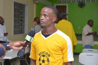 Footballer, Paul Kingston.