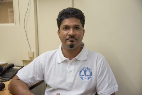Dr. Navindranauth Rambaran, Head of the General Surgery Department at the Georgetown Public Hospital Corporation (GPHC)