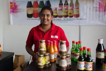Annie Rooplall, Manager of Prestige Manufacturing & Bottling Enterprise