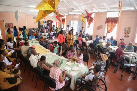 Persons in attendance at the Senior Citizens Party