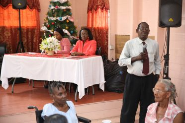 Mr. Azore of the Palms Geriatric Institution