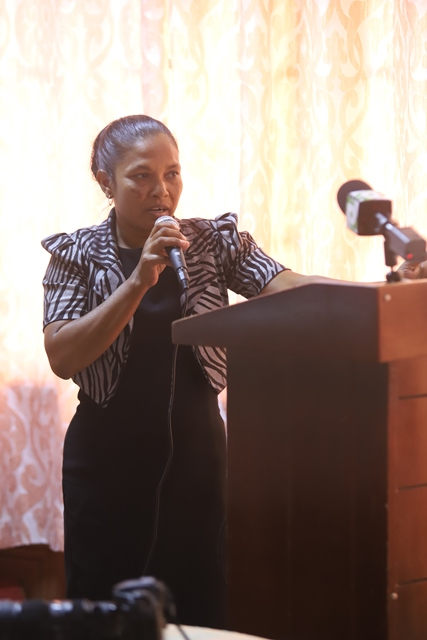Devika Ramadhin, recipient of Micro Grant