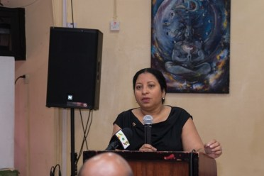 Deputy Vice-Chancellor and Chair of the Transitional Management Committee, of UG, Professor Paloma Mohammed.