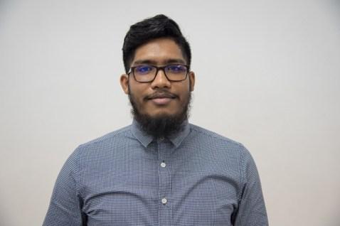 Sadesh Jaipersaud, recipient of the Public Service Ministry's Scholarship.