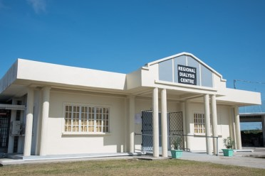 The first-ever dialysis centre in Berbice.