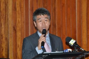 Yohei Sasagawa, President of Mitsubishi Corporation Caribbean branch.