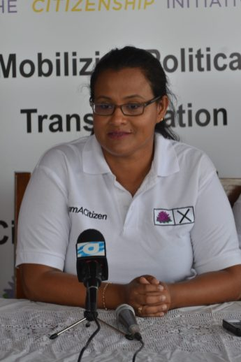 TCI Presidential Candidate, Rondha-Ann Lam