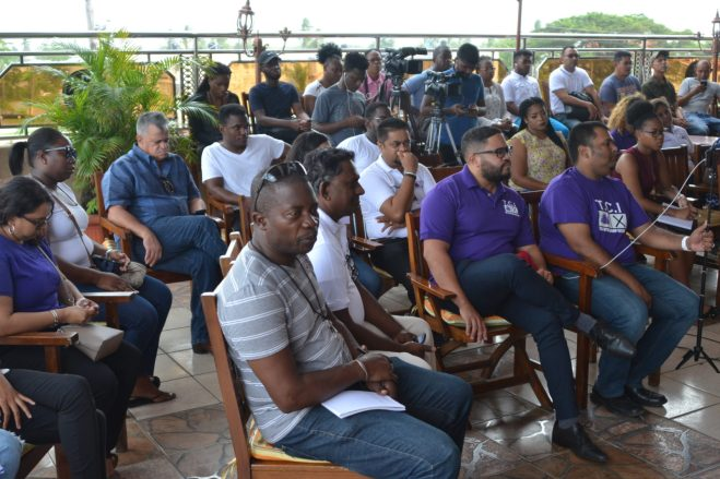 The gathering at the TCI campaign launch