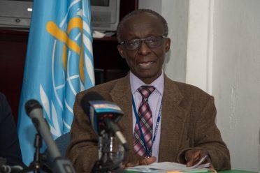 PAHO/WHO representative Dr William Adu-Krow