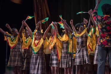 Sophia Primary School Students during their performance.