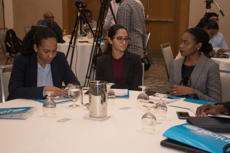 Participants at the meeting this morning at the Marriott Hotel