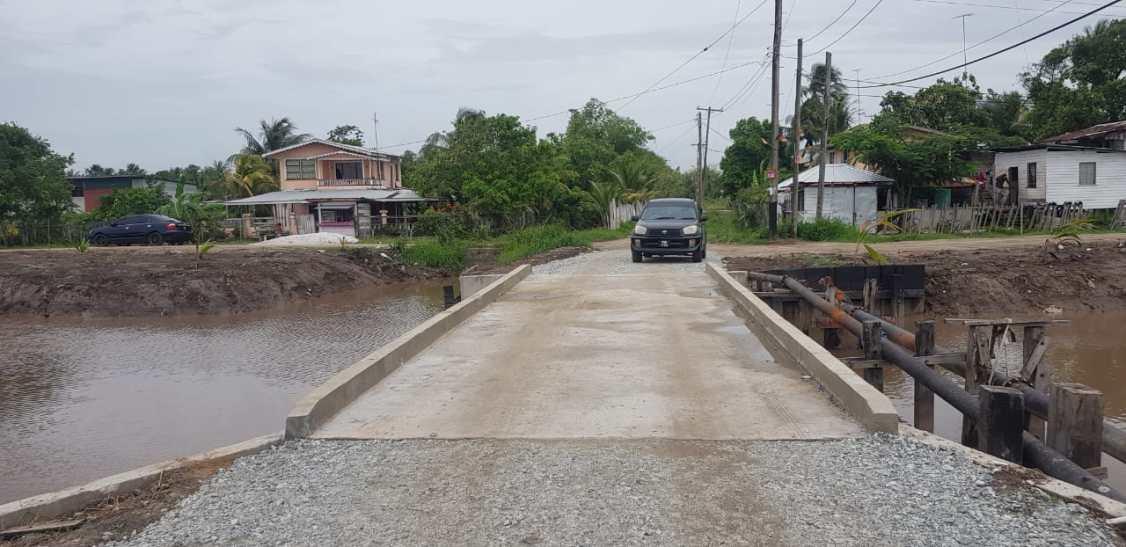 Bridge at Retreat Road - Parika