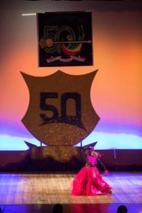 Scene from the dance segments of the Children's Mashramani Competition.
