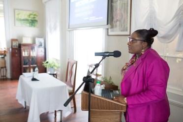 GECOM's Public Relations Officer, Yolanda Warde.