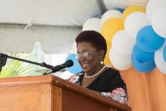 Ms. Myrna Lee, Principal of CHSE.