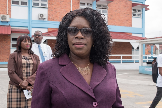 Permanent Secretary, Ministry of Public Health, Collette Adams.
