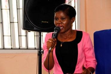 Head of Department, Ms. Dawn Monplaisir.