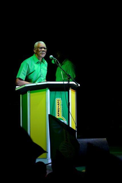H.E David Granger, President of the Cooperative Republic of Guyana.