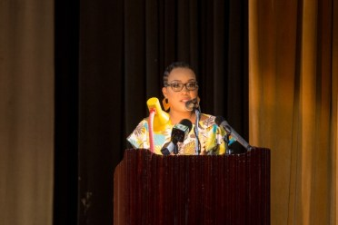 Dr. Heather Morris-Wilson, Director of Leprosy Control Programme.