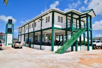 The newly commissioned NDIA building in Cotton Field, Region 2.