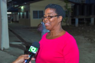Judy Rose, Community Health Workers' training Coordinator.