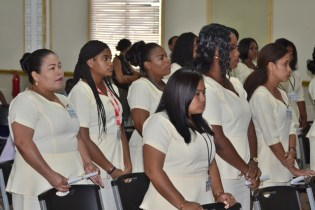 The cohort of new Community Health Workers.