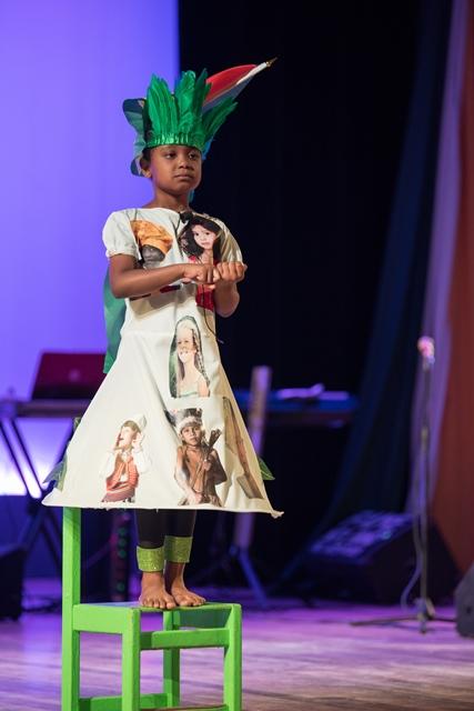Kenesha Lynch performs 'On Behalf of All Children'.