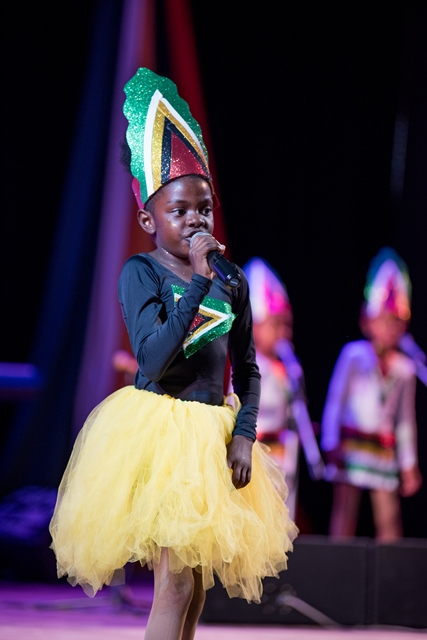 Region 10's Shanzia Rose performing 'Stop It'.
