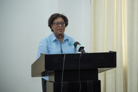 Hon. Catherine Hughes, Minister of Public Telecommunications