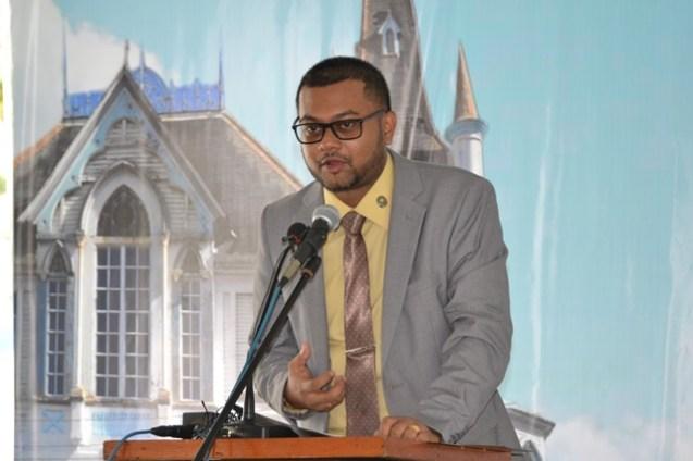 His Worship Pandit Ubraj Narine, Mayor of Georgetown.
