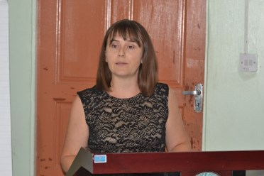 Janine Cocker, Counsellor Development High Commission of Canada.