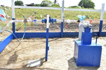 The new well which was drilled by GWI.
