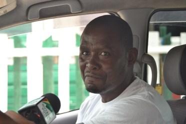 Taxi driver, Joel McRae.