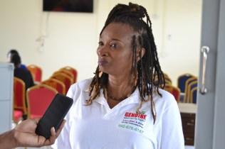 Businesswoman, Melba Lagoudoue.
