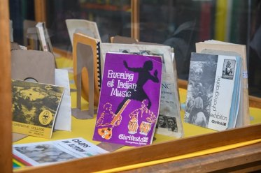 Some of the publications on display at the Republic Golden Jubilee Exhibition.