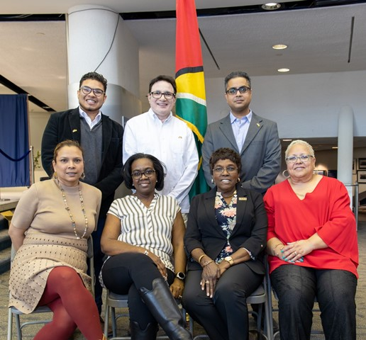 Members of the Guyanese Canadian 50th Republic Anniversary Steering Committee (Greater Toronto Area).