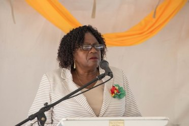 Demerara Mahaica, Regional Chairperson, Genevieve Allen.