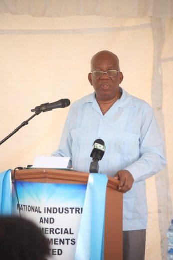 Minister of Finance Winston Jordan.