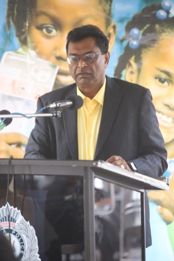 Minister of Public Security Khemraj Ramjattan