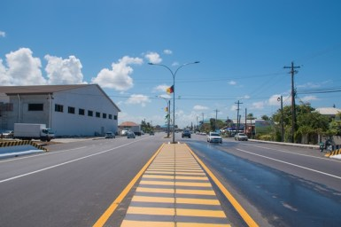 Section of ECD road at Montrose.