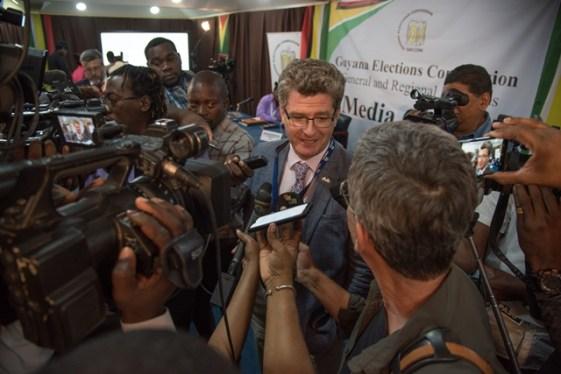 British High Commissioner to Guyana HE Greg Quinn.